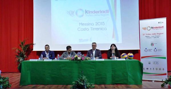 Gioiosa Marea: il 29 Giugno la cerimonia inaugurale delle Kinderiadi 2015 di pallavolo