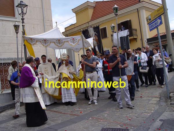 Patti: domani la processione cittadina del Corpus Domini