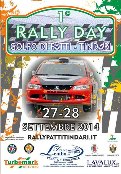 Patti: la viabilità per il 1° Rally Day Golfo di Patti - Tindari il 27 e 28 Settembre
