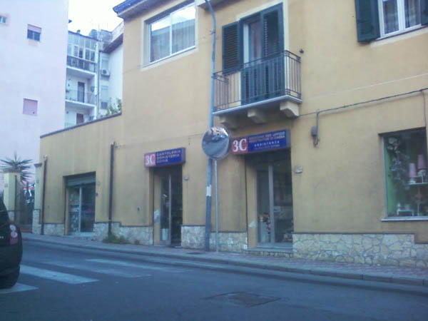 Patti: installato lo specchio parabolico all'incrocio tra la via Fratelli Cervi e Corso Matteotti