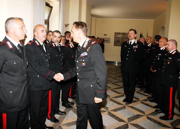 Messina: visita del nuovo Comandante della Legione Carabinieri Sicilia