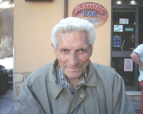 Patti: ad una settimana dalla scomparsa di Turiddu, l'«amico di tutti»